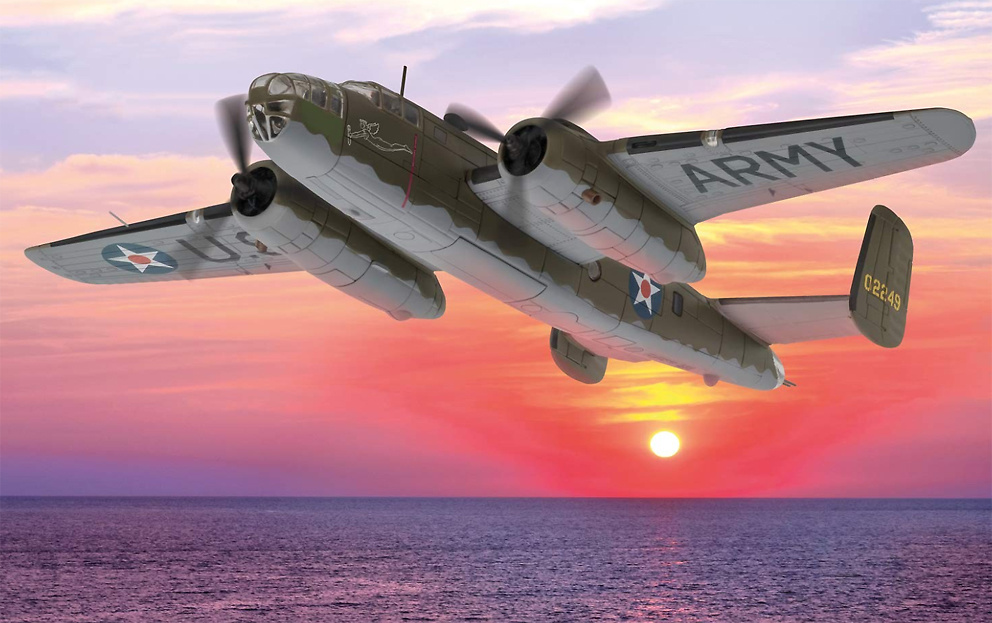 North American B25 Mitchell, 40-2249,