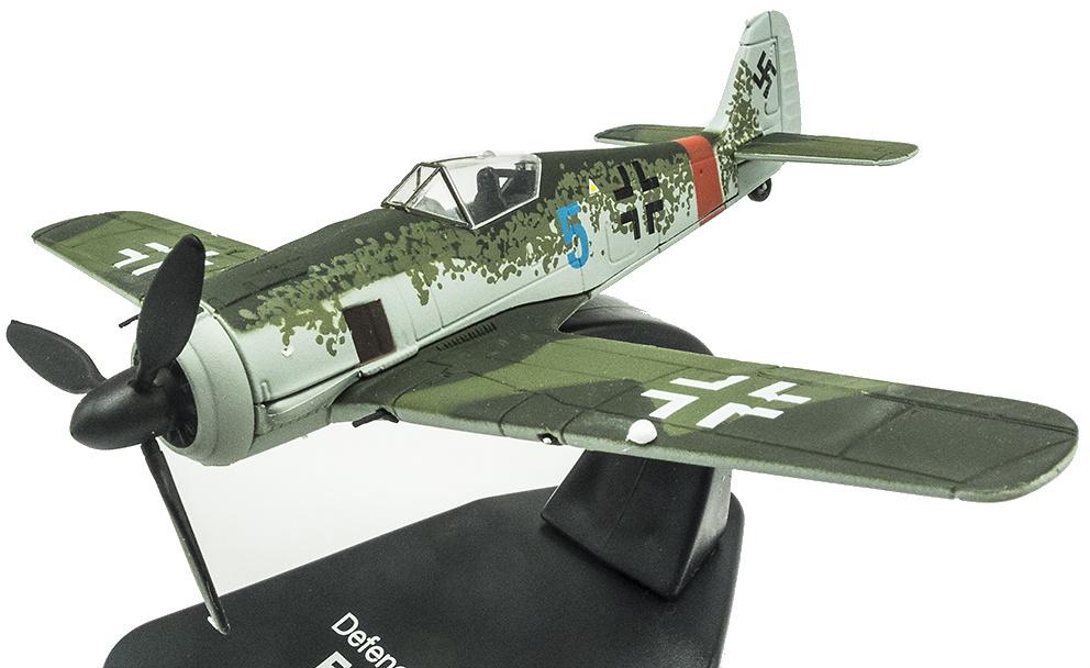 North American Mustang in OVP 1:72 Atlas Metall Flugzeuge Focke-Wulf FW 190A-5