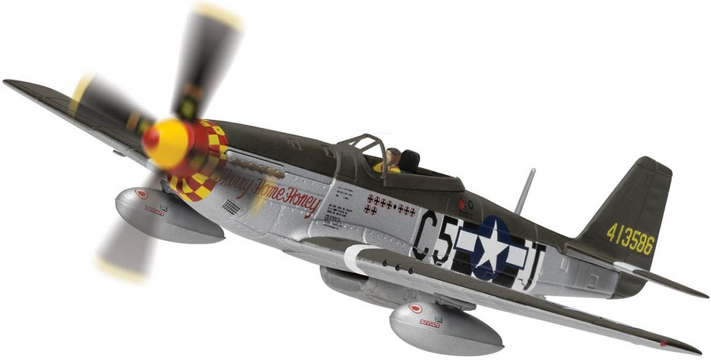 North American P-51D Mustang, 'Hurry Home Honey', 1944, 1:72, Corgi