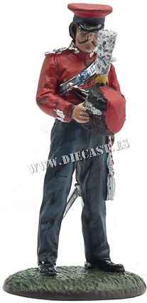 Officer, Lifeguard Cossacks, Uniforms of the Russian Imperial Guard, 1812, 1:30, Del Prado