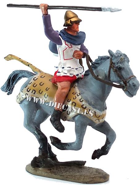 Oficial de Caballería, Tesalónica, año 330 a.C., 1:30, Del Prado