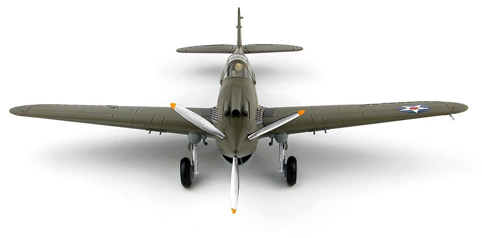 P-40B Warhawk, 2º teniente George Welch, Wheeler Field, Hawai, 1941, 1:48, Hobby Master
