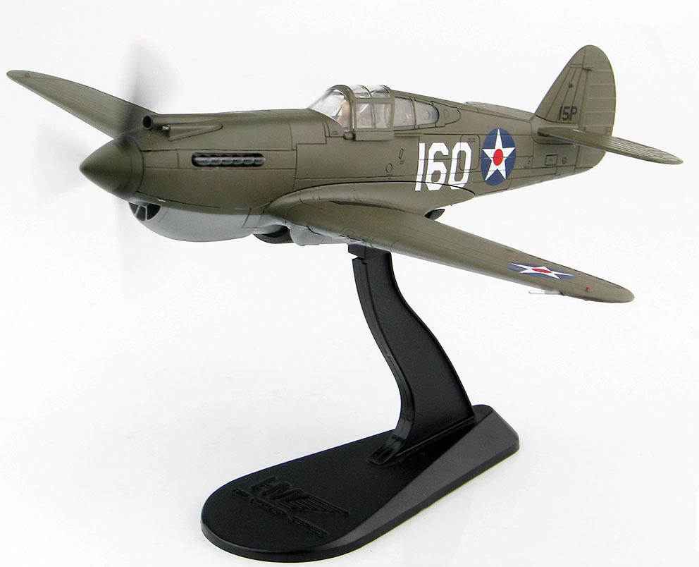 P-40B Warhawk, 2º teniente George Welch, Wheeler Field, Hawai, 1941, 1:72, Hobby Master