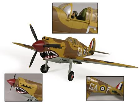 P-40B Warhawk USAAF