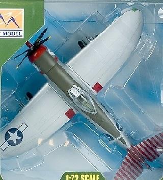 86FG in 1:72 Easy Model 37290 P-47D Thunderbolt 527FS