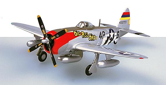 P-47D Thunderbolt 531FS, 406FG, 1:72, Easy Model