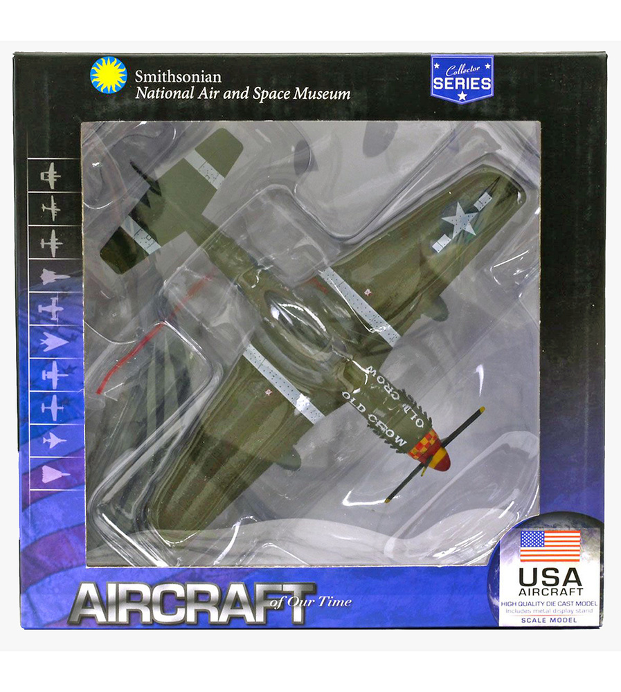 P-51 Mustang, USAAF, Old Crow, 1:72, Air Force One