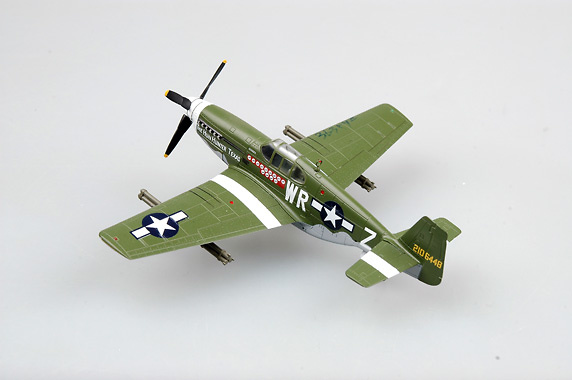P-51B, 1st Lieutenant Henry Brown, 1:72, Easy Model