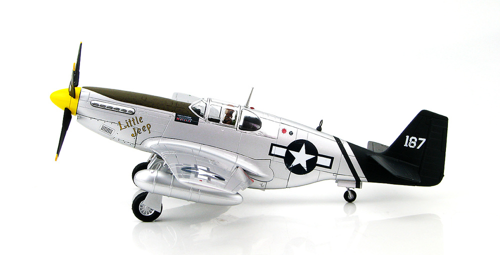 P-51C Mustang Little Jeep of Capt Forrest H. Parham 75th ...