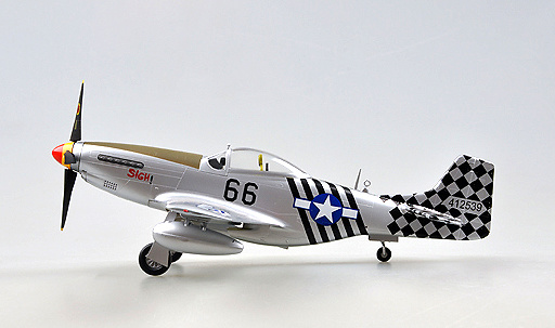 P-51K, 6 Air Commando Aquadron 1ACG, India, 1945, 1:48, Easy Model