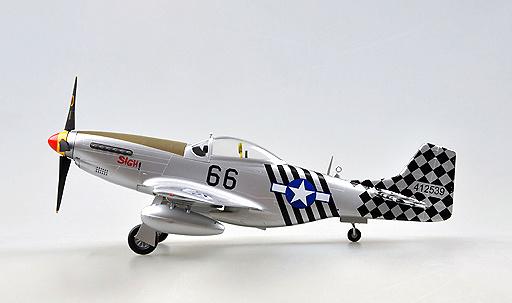 P-51D, 6 Air Commando Aquadron 1ACG, India, 1945, 1:48, Easy Model