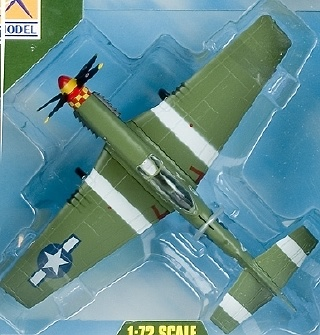 EM, AVION P-51D MUSTANG IV, 632FS.357FG 1944, 1:72