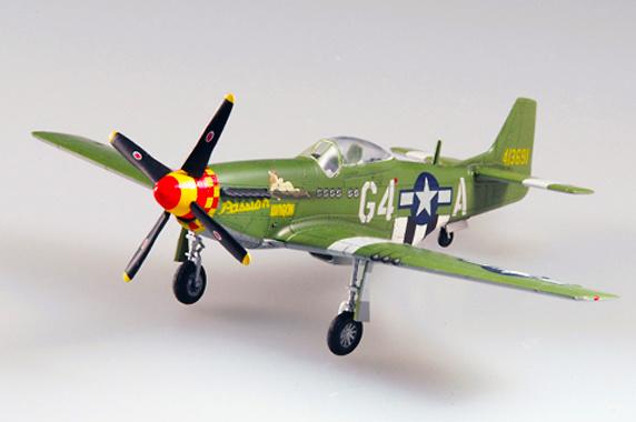 P-51D Mustang IV, 632FS.357FG, USAF, Teniente Coronel J. Robertson, 1944, Easy Model