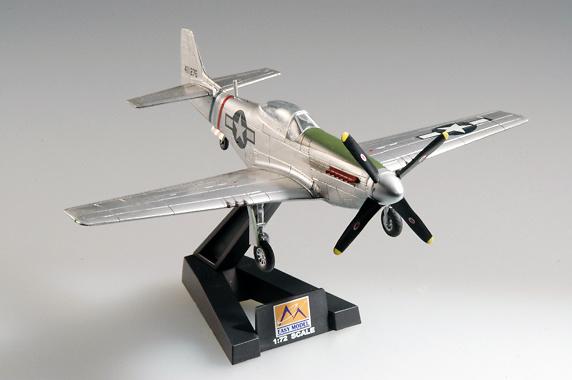 P-51K Mustang IV, LT. Col Older, 23FG, 1:72, Easy Model