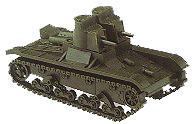 PREMO, URSS, CARRO T-26, 1931, ESCALA HO