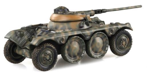 Panhard EBR-75, Ejército Portugués, Angola, 1970, 1:72, Solido