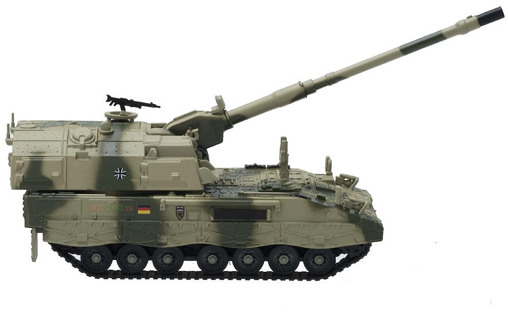 Panzer Haubirte PzH-2000, Artillería Autopropulsada, Ejército Alemán, librea afgana, 2010, 1:72, Panzerkampf