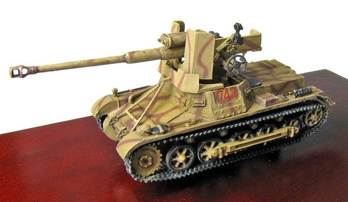 Panzer I, 7.5 cm. Pak 40, Berlin, 1945, 1:72, Panzerstahl