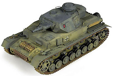 Panzer IV, Sd.Kfz. 161, Ausf. D, 1:32, 21st Century Toys