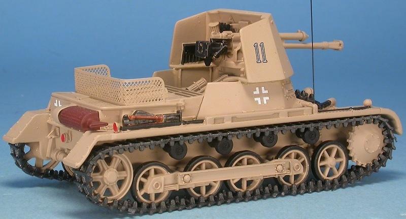 Panzerjäger I Ausf.B 4.7cm PaK(t) (Sf) Panzer I, Libia, 1941, 1:48, Gasoline