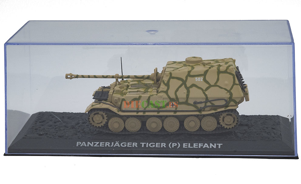 Panzerjäger Tiger (P) Elefant, Alemania, 1942/43, 1:72, Atlas Editions