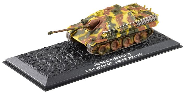 Jagdpanther Sd.Kfz173, Sch Pz.Jg.Abt.559, Luxemburgo 1944, 1:72, Altaya