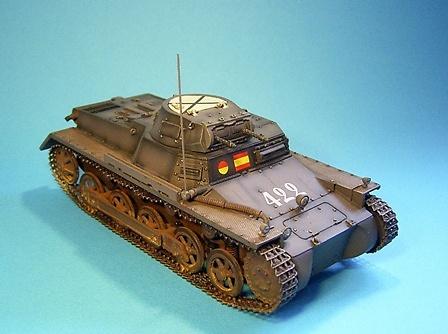 Panzerkampfwagen I Ausf. B, Nº 422, España, 1936-39, 1:30, John Jenkins