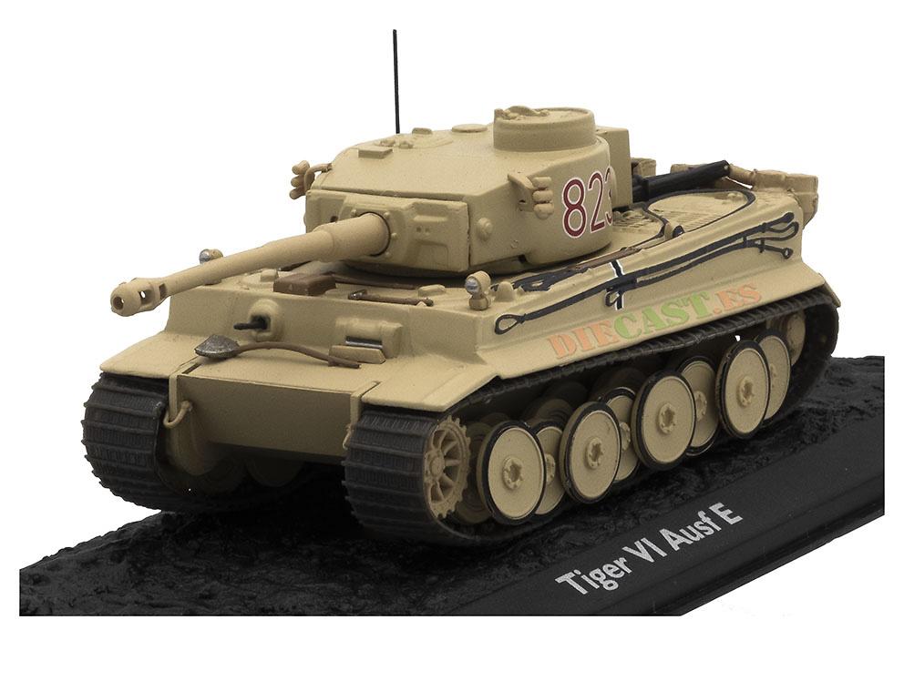 Panzerkampfwagen Tiger VI Ausf E, Alemania, 1942-45, 1:72, Atlas Editions