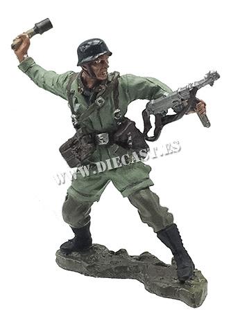 Paracaidista alemán, Creta, 1941, 1:32, Hobby & Work