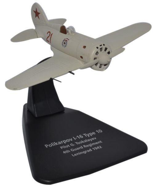 Polikarpov I 16 4th Guard Reg., Leningrado, 1942, 1:72, Oxford