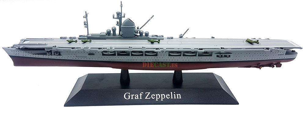 Portaaviones Graf Zeppelin, Kriegsmarine, 1938, 1:1250, DeAgostini