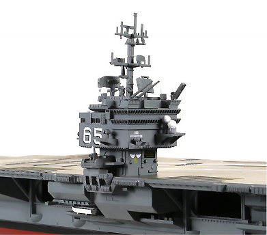 Portaaviones USS Enterprise CVN-65, Mar Mediterráneo, 2001, 1:700, Forces of Valor