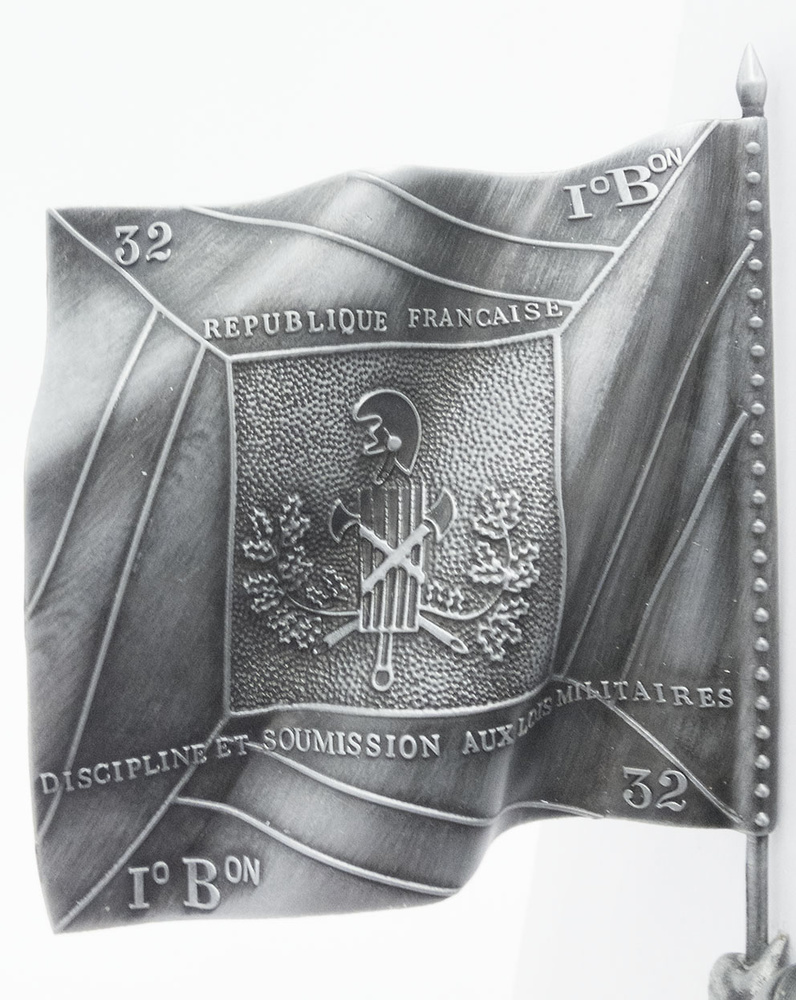 Portaestandarte de Media Brigada, General Kléber, 1:24, Atlas Editions