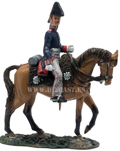 Prussian Staff Captain, 1815, 1:30, Del Prado