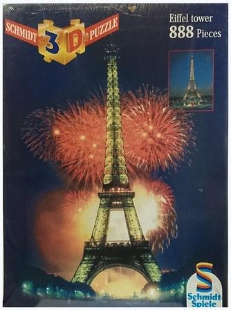 Puzzle 3D, Torre Eiffel, Schmidt Spiele