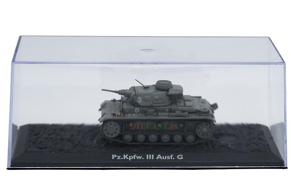 Pz.Kpfw. III Ausf. G, Alemania, 1939/45, 1:72, Atlas Editions