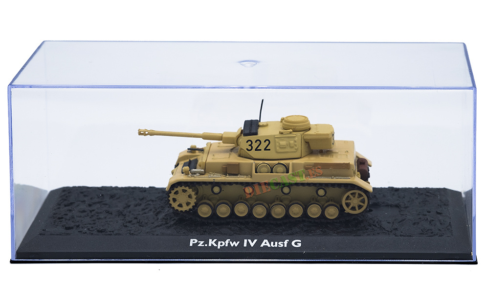 Pz.Kpfw. IV, Ausf G, Alemania, 1944, 1:72, Atlas Editions
