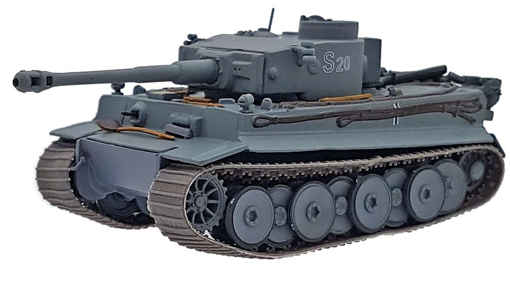 Pz.Kpfw. Tiger VI Ausf.E 13./Pz. Regt. Grossdeuschland, 1943, 1:72, Altaya