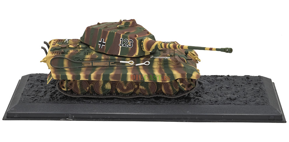 Ultimate Tank Collection Panzer VI King Tiger Porsche 1//72 Atlas
