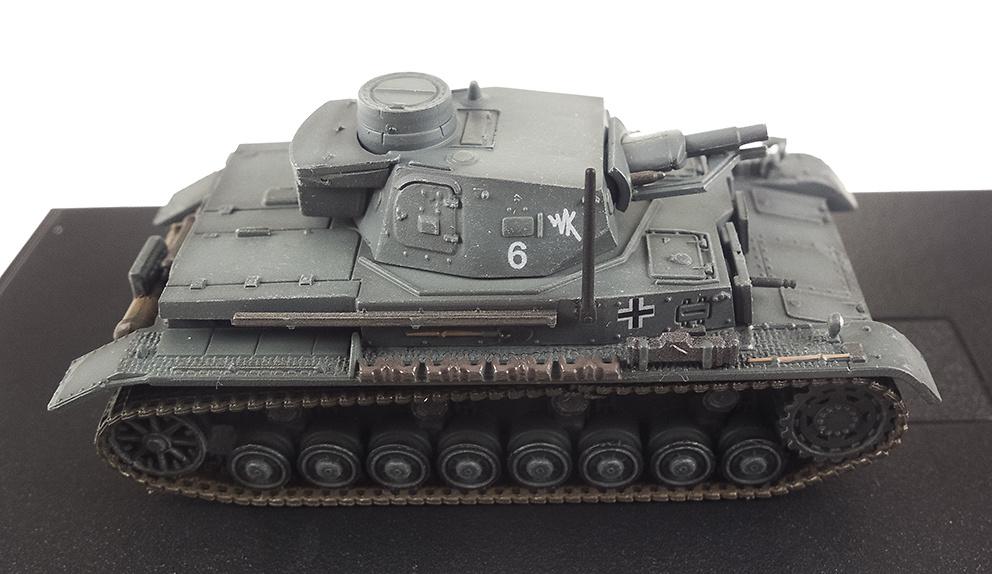 Pz.Kpfw.III Ausf.G, 2ª Guerra Mundial, 1:72, Panzerkampf