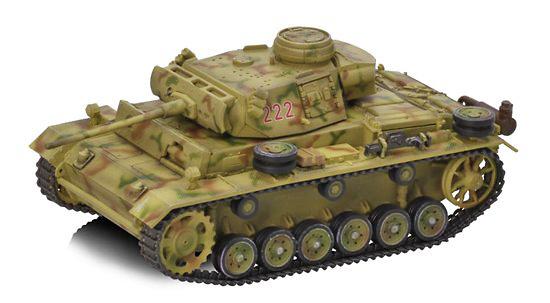 Pz.Kpfw.III Ausf.M 23.Pz.Div., Sur de URSS, 1943, 1:72, Dragon Armor