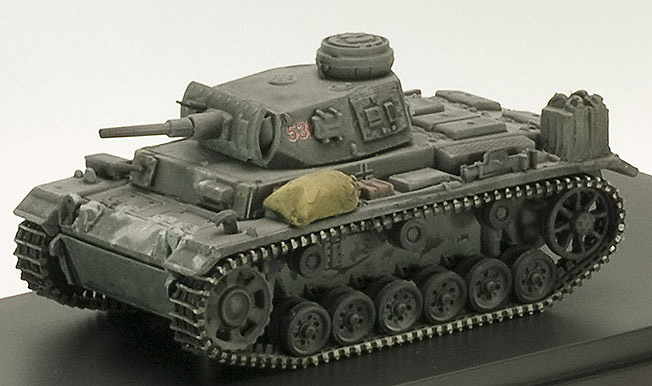 PzKpfw III, Ausf H, Medium Tank - 5. Panzer Division, 1:72, Admiral Toys