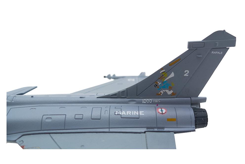 Rafale M, Flottille de Chasse 12F, Aéronautique Navale Française, Francia, 1:100, Italeri