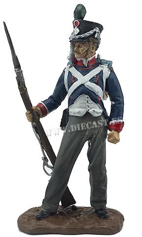 Recluta del 2º Regimiento de Cazadores de la Guardia Imperial, 1810, 1:32, Hobby & Work