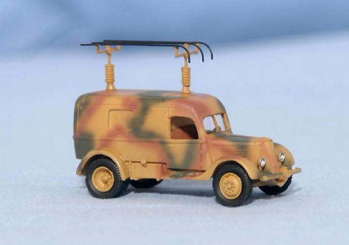 Renault ADH, 2.5 Ton, Radio Car, 1:72, Wespe Models