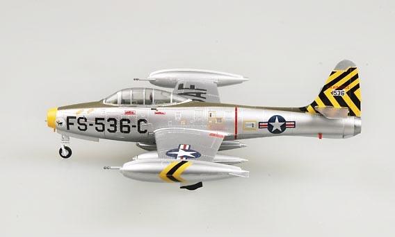 Republic F-84E-25, 8th Fighter Bomber Squadron, Lt. Donald James, 1:72, Easy Model