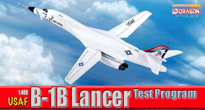 Rockwell B-1B Lancer, USAF Test Program, 1:400, Dragon Wings