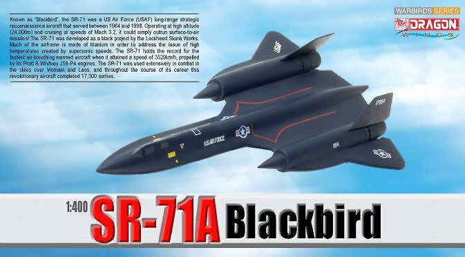 SSR-71A Blackbird, 1:400, Dragon Wings