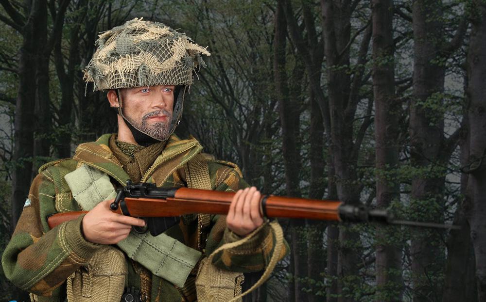 Sargento Charlie, Red Devils, British 1st Airborne Division, 2ª GM, 1:6, Did