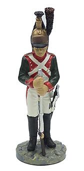 Sargento del 25 Regimiento de Dragones, 1810, 1:32, Eaglemoss